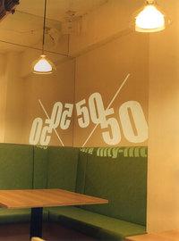 オリジナルロゴサインの画像