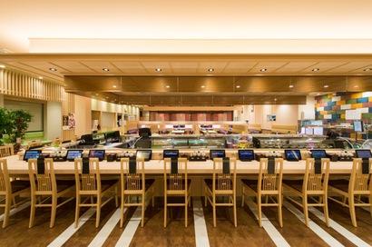 回転寿司店「マルマン鮨」の画像